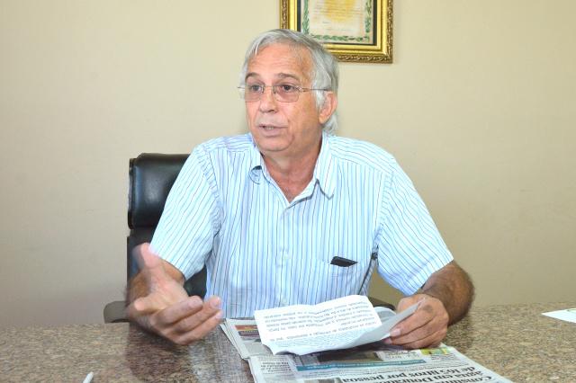 Presidente do Sindicato cobra solução para o conflito em Caarapó. - Crédito: Foto: Marcos Ribeiro