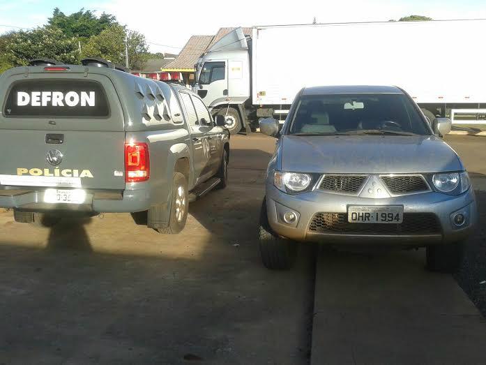 Polícia recupera em Dourados veículo roubado em SP -