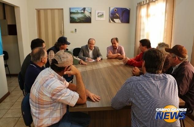 Reunião aconteceu de portas fechadas na manhã de hoje - Crédito: Foto: Helio de Freitas/Campo Grande News/Reprodução