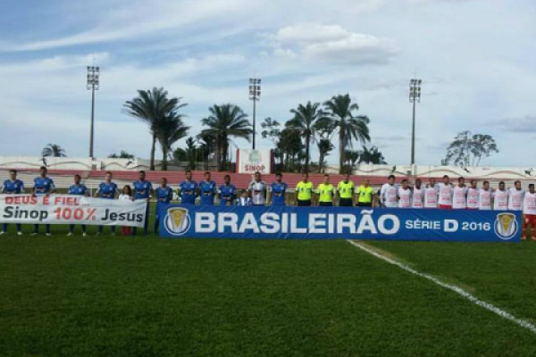 A partida atraiu público de 676 pagantes para renda de R$ 15.615,00. Foto: Divulgação -