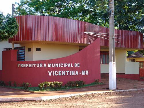 Prefeitura Municipal de Vicentina-MS. - Crédito: Foto: Divulgação