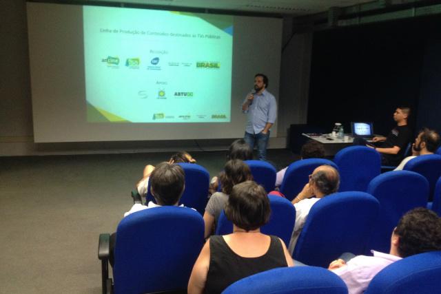 Participantes do seminário realizado em Campo Grande, discutem alternativas de criação e produção de vídeos em MS. - Crédito: Foto: Divulgação