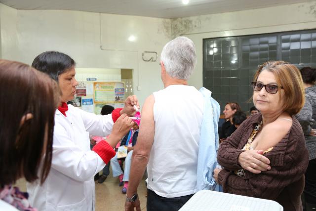Campanha de imunização ocorreu mês passado em Dourados. - Crédito: Foto: Arquivo/Assecom