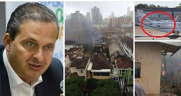 A queda da aeronave com Campos ocorreu dia 13 de agosto de 2014, em um bairro residencial de Santos -