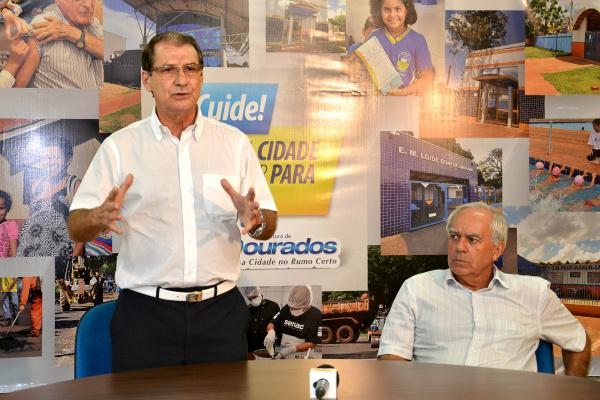 Secretário de Saúde Sebastião Nogueira -