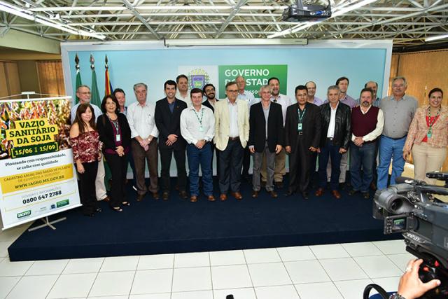 Representantes da Federação da Agricultura e Pecuária participaram ontem do lançamento oficial da campanha da Iagro. - Crédito: Foto: Divulgação