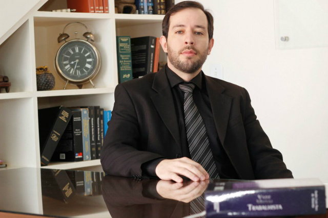 Parpinelli Júnior é especialista em Direito e Processo do Trabalho e Direito Constitucional.  - Crédito: Foto: Divulgação