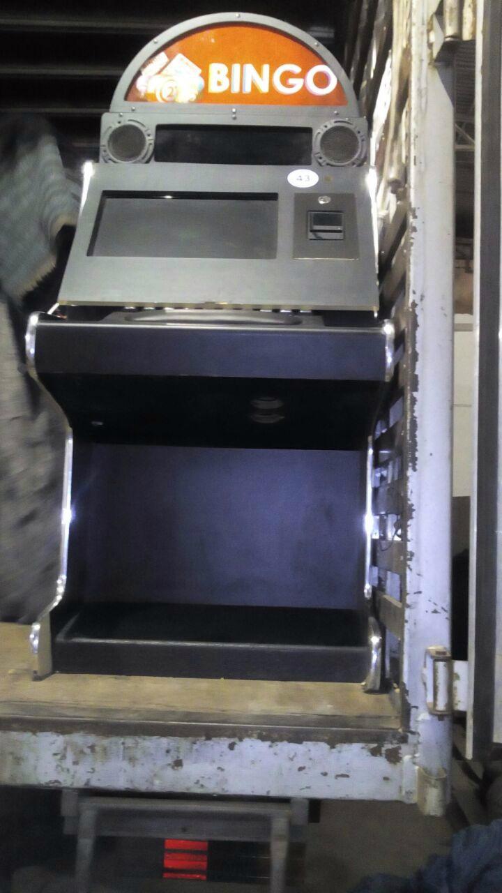 Máquinas foram apreendida na região de Ponta Porã -