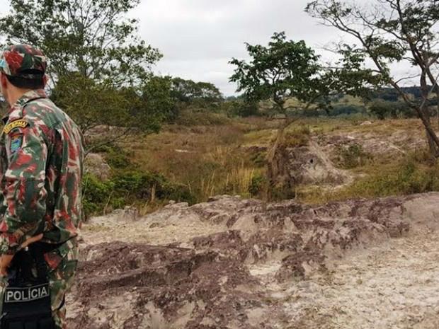 Pecuaristas foram autuados por degradação e erosões em MS - Crédito: Foto: PMA-MS / Divulgação