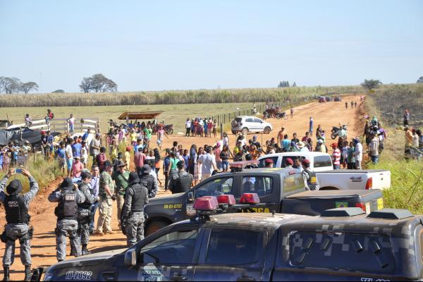 A ocupação, que aconteceu no último dia 14 causa reflexos negativos tanto para as comunidades indígenas como para os produtores. Foto: Hédio Fazan -