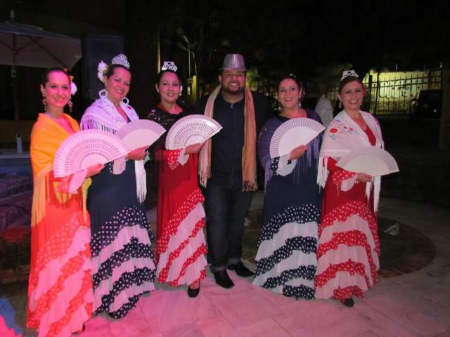 Companhia Embrujos de España foi destaque no evento. - Crédito: Foto: Elvio Lopes