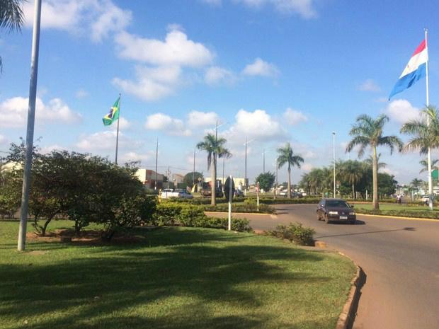 Fronteira Brasil e Paraguai em MS - Crédito: Foto: Martim Andrada/ TV Morena