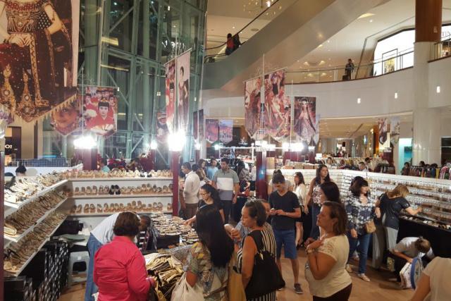 Shopping Campo Grande recebe  nesta sexta-feira, 15 artesãos de diversas nações. As peçãos são da Turquia, Índia e Japão. - Crédito: Foto: Divulgação