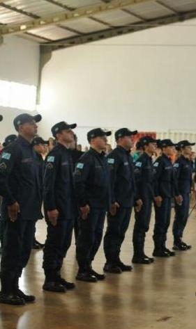 Os 98 homens e 12 mulheres vão atuar na Capital e no interior - Crédito: Foto: Alcides Neto/Campo Grande News