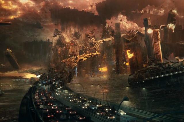 Filme mostra os esforços conjuntos para impedir que um ataque alienígena atinja o planeta. - Crédito: Foto: Divulgação