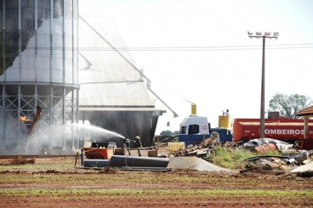 Motivo do incêndio ainda será apurado - Crédito: Foto: Site Nova News