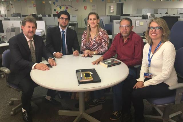 Prefeito Itamar Bilibio esteve em Brasília, em busca de mais recursos para investir na cidade. - Crédito: Foto: Divulgação