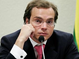Lúcio Funaro em depoimento à CPI dos Correios, em 2006 - Crédito: Foto: Dida Sampaio/Estadão Conteúdo