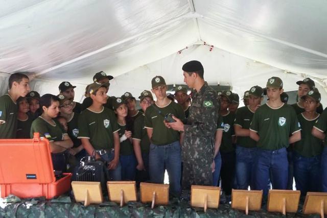 120 selecionados vão somar aos 75 que já ingressaram na Guarda Mirim de Dourados. - Crédito: Foto: Divulgação