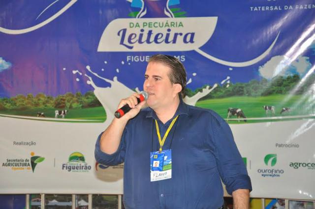 Gerente do Banco do Brasil, agência Costa Rica, Flávio Guilherme Alcantu para sobre o  novo Plano Safra para MS. - Crédito: Foto: Divulgação