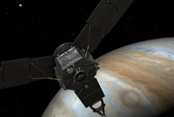 Sonda Juno já está na órbita de Júpiter -