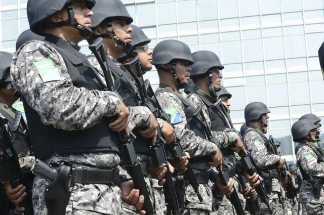 Forças de segurança iniciam operação para os Jogos Olímpicos -