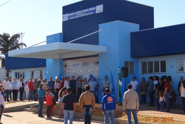 População de Laguna recebe nova Unidade Básica de Saúde. - Crédito: Foto: Simone Burin