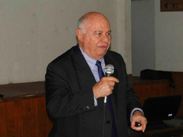 Mário Petrocchi, especialista em Turismo, palestrou em Dourados no sábado  -