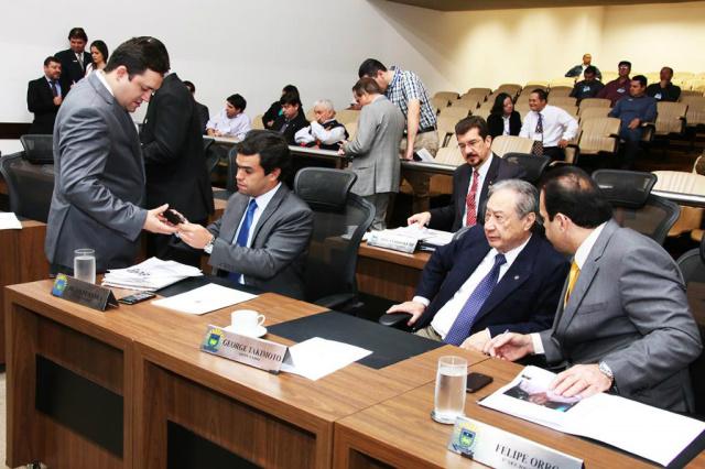 Também foi aprovado projeto que ratifica convênios do ICMS. - Crédito: Foto: Victor Chileno