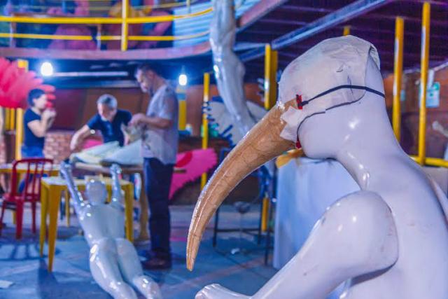 No festival, o público vai encontrar, por exemplo, junções inusitadas de vários animais. - Crédito: Foto:  Helton Perez