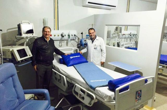 Novos leitos de UTI do Hospital da Vida serão inaugurados nesta segunda-feira. - Crédito: Foto: Divulgação