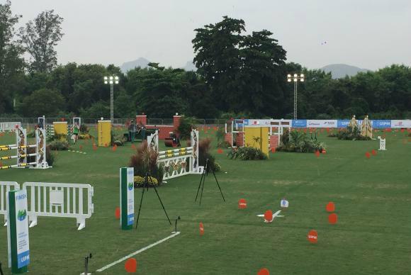 Sem cavalos brasileiros, a equipe nacional participará dos Jogos Paralímpicos apenas na modalidade adestramento. - Crédito: Foto: Arquivo/Cristina Indio do Brasil/Agência Brasil