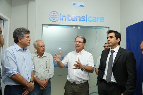 Hospital da Vida recebe dez novos leitos de UTI -