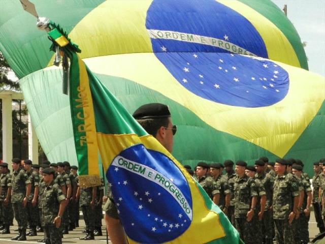 Desde o dia 7 de julho, a Bandeira do Brasil é obrigatória em eventos oficiais que envolvam esporte, cultura e qualquer outra atividade que seja financiada através do governo federal. - Crédito: Foto: Divulgação