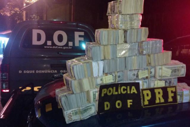 A Operação Corumbá Segura II, que durou 24 horas, teve início às 6h do sábado com objetivo de reduzir os índices criminais. - Crédito: Foto: Divulgação