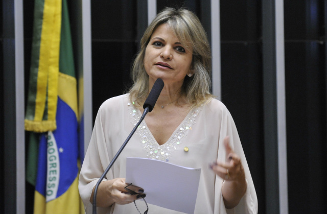 A relatora na comissão, deputada Flávia Morais - Crédito: Foto: Luis Macedo/Câmara dos Deputados