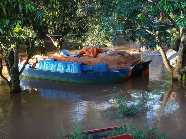 Criminosos utilizavam os rios Ivaí e Paraná para escoamento das cargas contrabandeadas - Crédito: Foto: Divulgação / PF