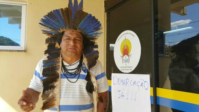 Índios ocupam novamente a Funai e protestam por desmonte    -