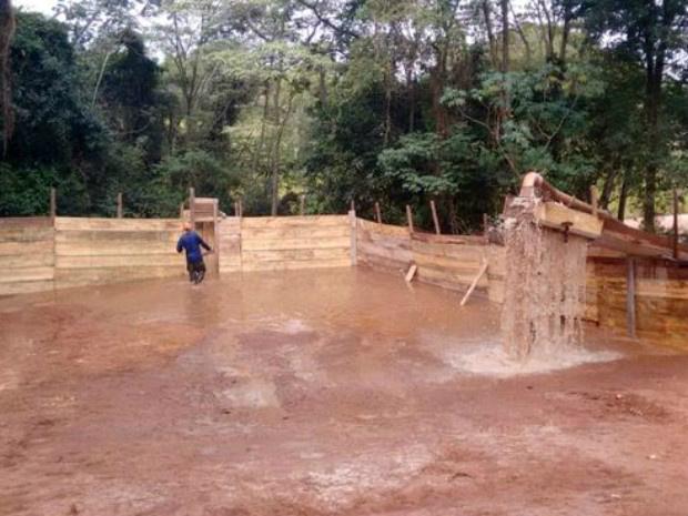 Obras de desassoreamento já foram iniciadas no parque das Nações em Campo Grande - Crédito: Foto: Semade-Imasul/Divulgação