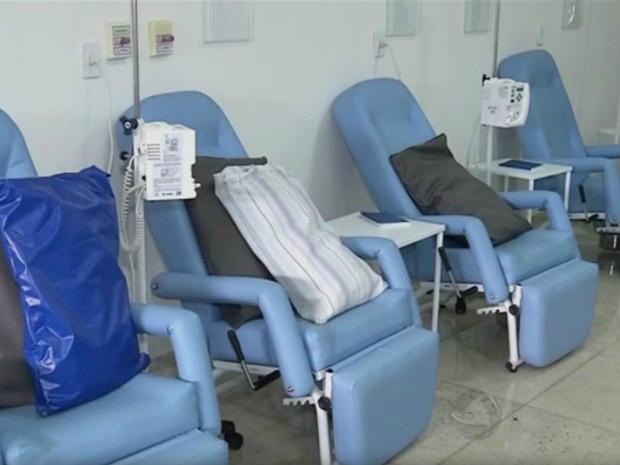 Atendimento aos pacientes da oncologia foi suspenso em abril - Crédito: Foto: Reprodução/TV Morena