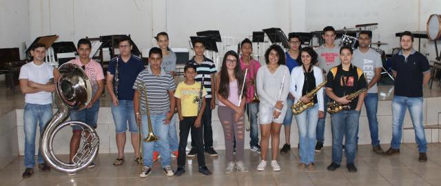 Integrantes da Banda IBC estarão no Festival dos Povos no Paraguai. - Crédito: Foto: Eder Rubens