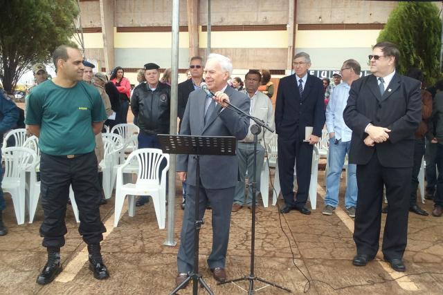 O evento contou com a presença do vice-prefeito Odilon Azambuja, que representou o prefeito Murilo. - Crédito: Foto: Divulgação