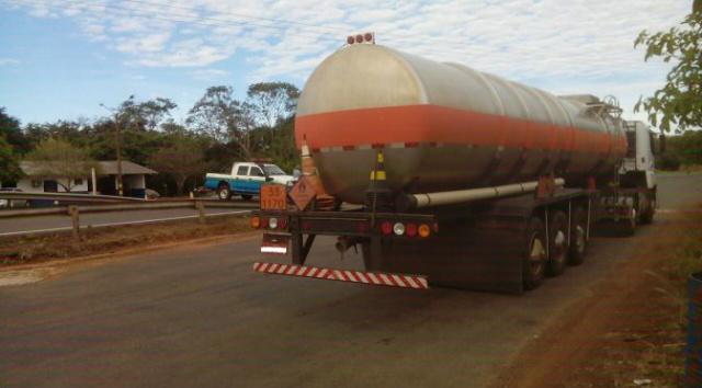 PMA autua empresa por transporte ilegal de combustível -