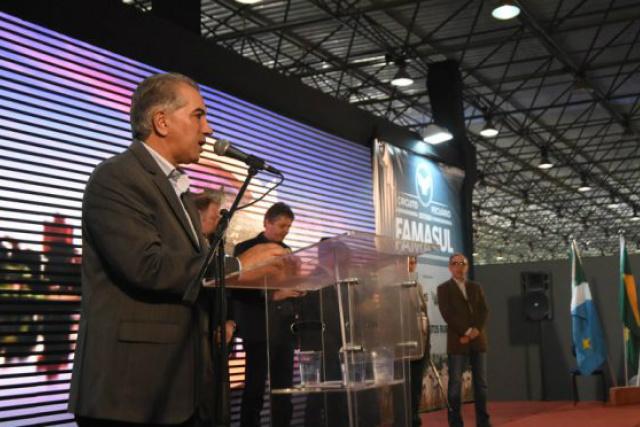 Reinaldo anuncia R$ 2,7 bilhões para logística em evento da cadeia produtiva da carne -
