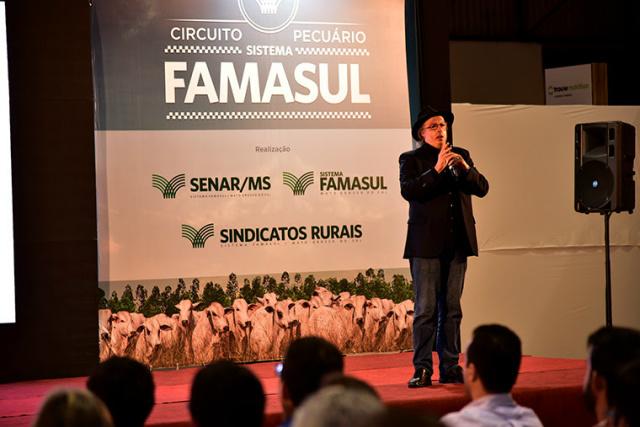 Evento do Sistema Famasul completa a quarta edição com palestra do especialista em comunicação - Crédito: Foto: José Luiz Tejon