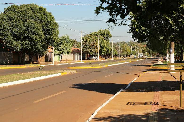 Avenida Vilso Gabiatti é uma das principais vias da região -
