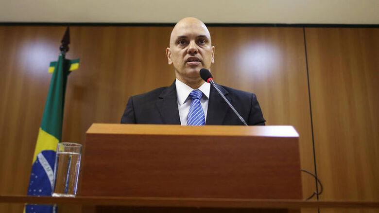 Alexandre de Moraes: assessores presidenciais acharam equivocado o pronunciamento do ministro -
