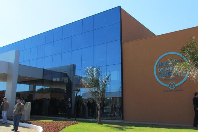 Instituto de Prevenção do Câncer de Barretos, na Capital, que tem parceria para capacitar agentes de saúde. - Crédito: Foto: Elvio Lopes