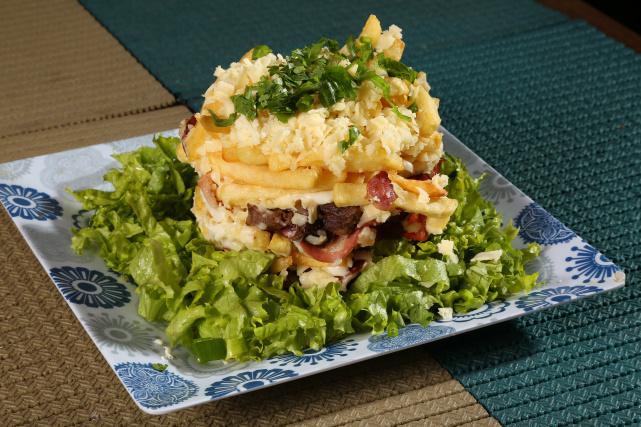Festival Gastronômico de Dourados tem dois pratos de batata frita de dar água na boca. - Crédito: Foto: A. Frota