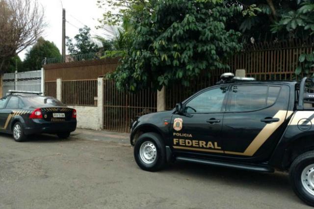 PF cumpre mandados de busca e apreensão em Campo Grande - Crédito: Foto: Fabiano Arruda/ TV Morena